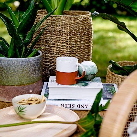 Bloomingville Schüssel Jade Green