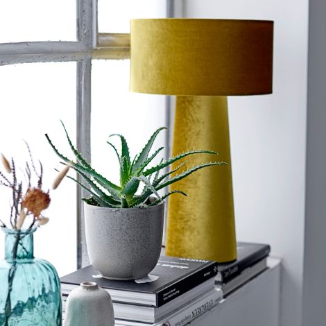 Bloomingville Tischlampe Yellow