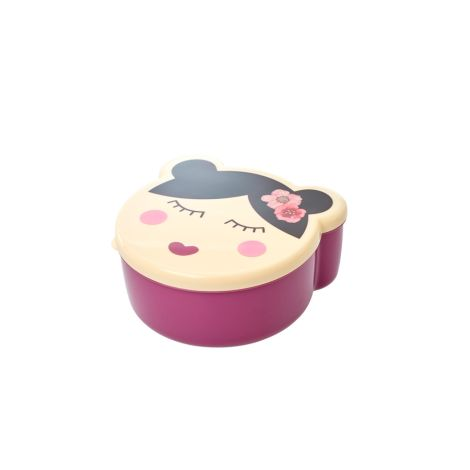 Rice Brotdose Lunchbox Faces Girl 4er-Set