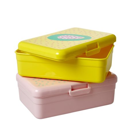 Rice Lunchbox Brotdose Fruit Gelb •