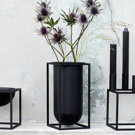 by Lassen Schale Kubus Bowl Black Small