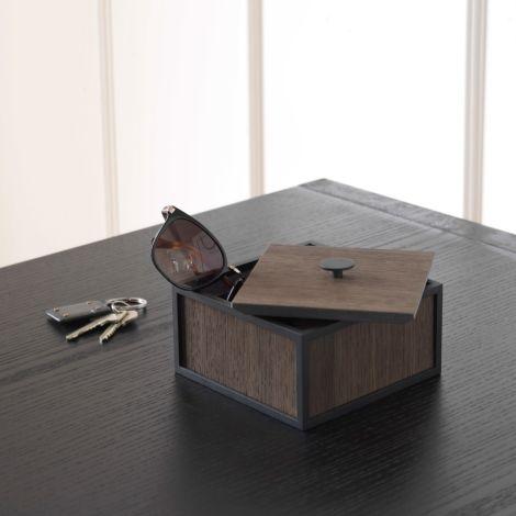 by Lassen Box Frame 14 Smoked Oak