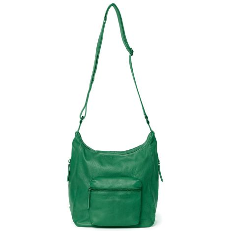 Sticks and Stones Ledertasche Calgary Cactus Green Washed •