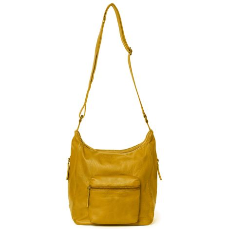 Sticks and Stones Ledertasche Calgary Honey Yellow Washed •