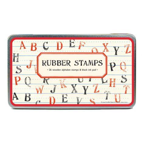 Cavallini Stempelset Buchstaben ABC