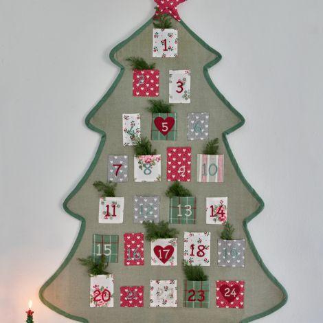 GreenGate Adventskalender Tree Charline White