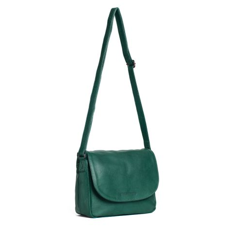 Sticks and Stones Ledertasche Columbia Washed Pine Green