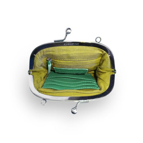 Sticks and Stones Ledertasche Como Jungle Green Washed