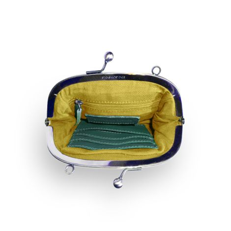 Sticks and Stones Ledertasche Como Washed Pine Green