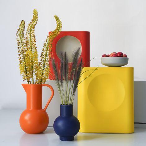 raawii Vase Strøm 16 cm Blue