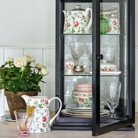 GreenGate Butterdose Square Gabby White