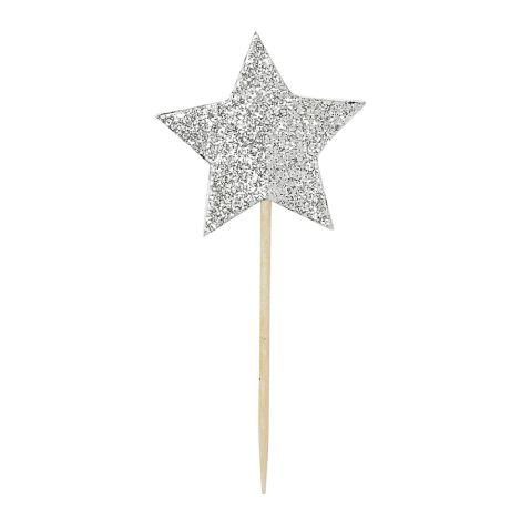 Miss Étoile Deko-Stick Zahlen/Stars 12er-Set