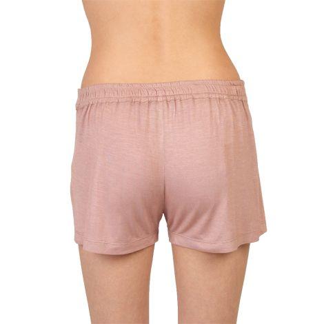 COCOON HOMEWEAR Pyjamashorts Daphne Mauve/Weiss
