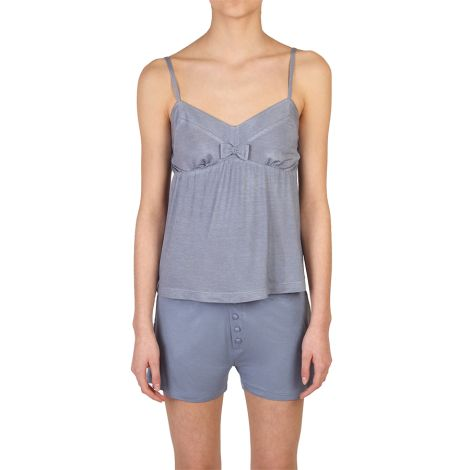 COCOON HOMEWEAR Pyjamatop Daphne Blau