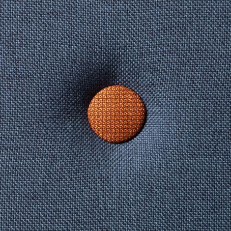 by KlipKlap KK 3 fold Matratze XL 200 cm Dark Blue/Orange
