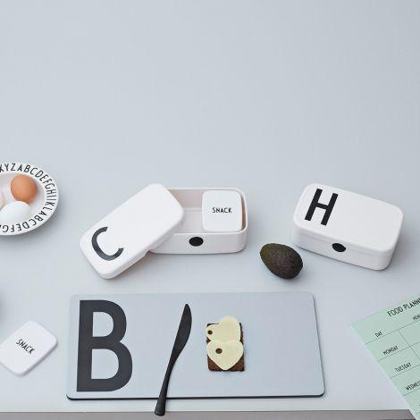 Design Letters Lunchbox H