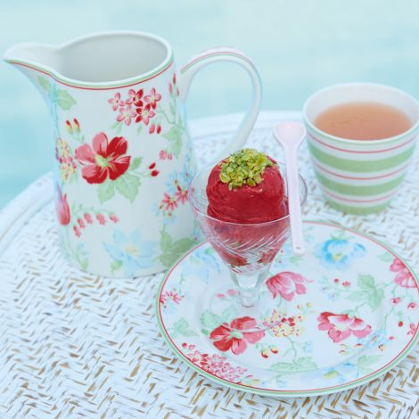 GreenGate Latte Cup Becher Elinor Green