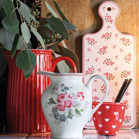 GreenGate Mini Latte Cup Becher Penny Red