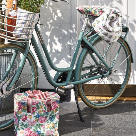 GreenGate Fahrrad-Sitzbezug cover Cherie White