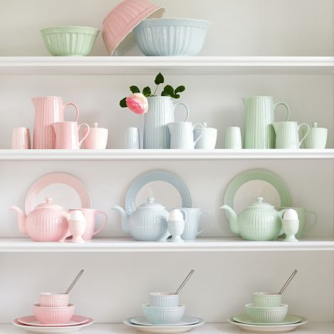 GreenGate Porzellan Tasse Alice Pale Blue