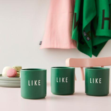 Design Letters Porzellan Becher Favourite Cups Grass Like