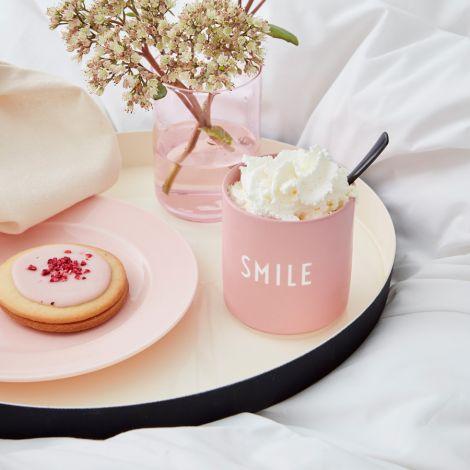 Design Letters Porzellan Becher Favourite Cups Rose Smile