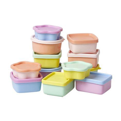 Rice Aufbewahrungsdosen Boogie Colors 12er-Set