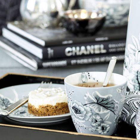 GreenGate Latte Cup Becher Felicity Grey