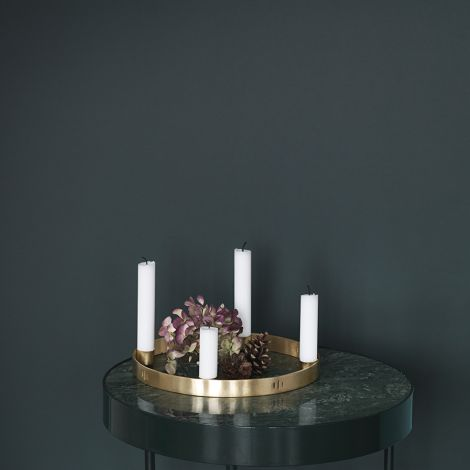 ferm LIVING Kerzenhalter Advent Circle klein