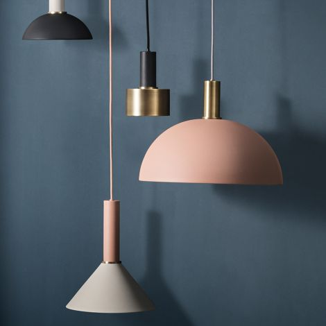 ferm LIVING Hängeleuchte COLLECT Low Brass