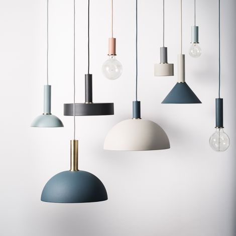 ferm LIVING Hängeleuchte COLLECT High Black •