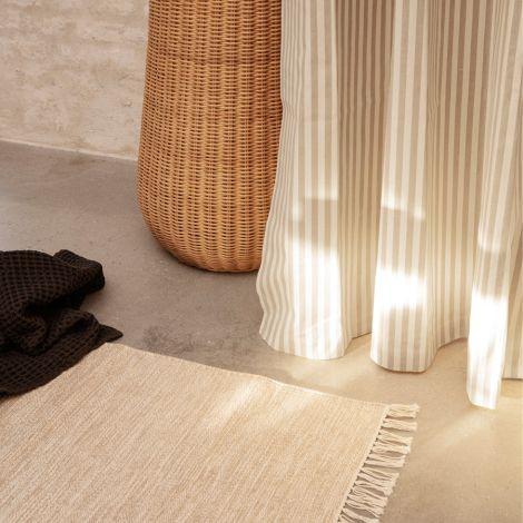 ferm LIVING Teppich Melange Sand