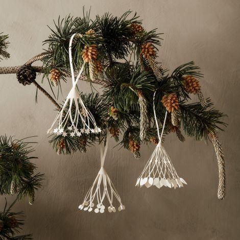 ferm LIVING Anhänger Christmas Paper Tassels 3er-Set