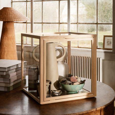 ferm LIVING Glasaufsatz Miru Montre Natural Oak