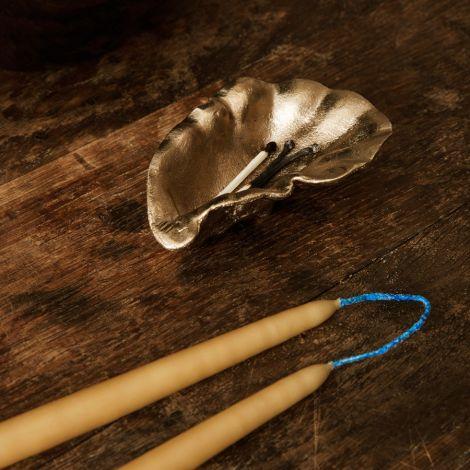ferm LIVING Schale Oyster Brass