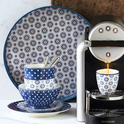 GreenGate Mini Latte Cup Becher Erin Petit Pale Blue