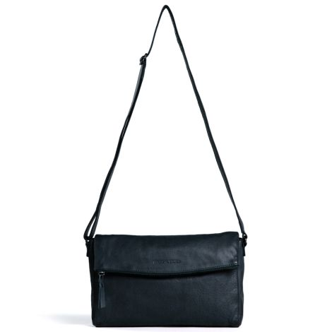 Sticks and Stones Ledertasche Flamengo Marine Blue Washed •