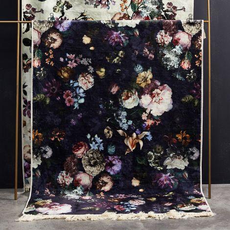 Essenza Teppich Fleur Nightblue