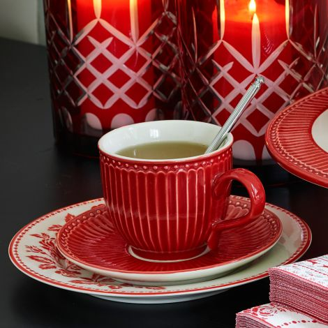 GreenGate Teetasse Alice Red