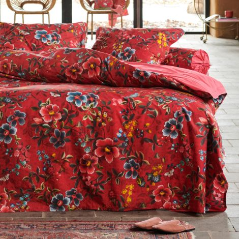 PIP Studio Nackenrolle Floral Delight Red