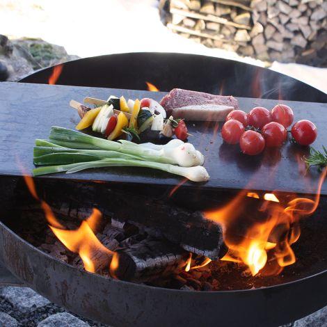 Raumgestalt Teppanyaki Platte für Feuerschale