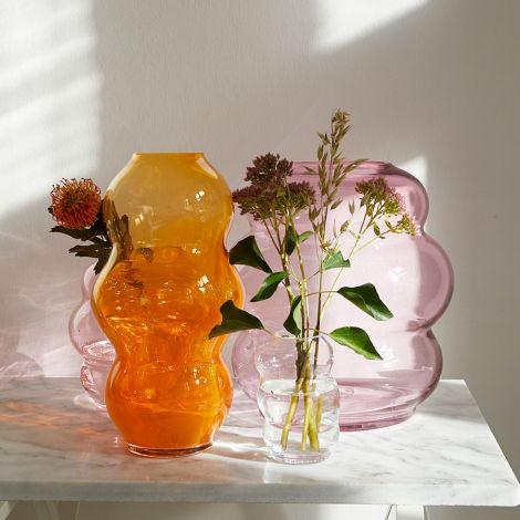 FUNDAMENTAL.BERLIN Vase Muse Large Clear Copper