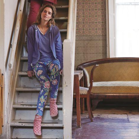 Pip Studio Haus-Socken Anna Pipska Dry Rose