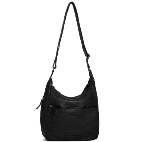 Sticks and Stones Ledertasche Gaia Black