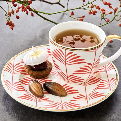 Gate Noir by GreenGate Tasse Maxime Coral