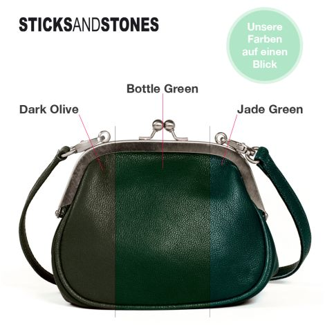 Sticks and Stones Portemonnaie Cancun Bottle Green