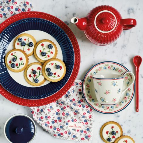 GreenGate Suppenteller Alice Red
