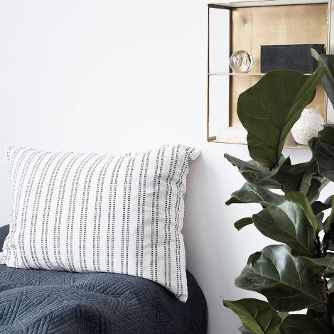 House Doctor Kissenbezug Additionel Weiß 80x60 cm •