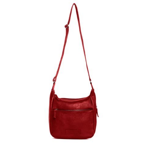 Sticks and Stones Ledertasche Hera Washed Red