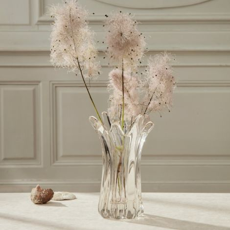 ferm LIVING Vase Holo Clear